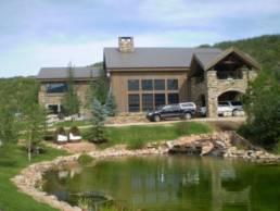 Katherine Heigl's Home In Utah (Side View)