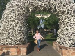 Katherine Heigl Visiting Jackson Hole Wyoming