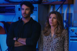 FIREFLY LANE (L to R) BEN LAWSON as RYAN and SARAH CHALKE as KATE in episode 109 of FIREFLY LANE. Cr. COURTESY OF NETFLIX © 2020