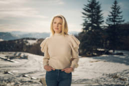 Katherine Heigl in Utah on January 8, 2021. Photo by Chad Kirkland for the Washington Post.